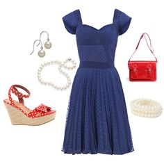 """""""red, white, and Navy"""" by holly-nufer on Polyvore"""