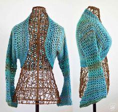 Sweet Spring Shrug No Seam Crochet Pattern - FREE PATTERN!!!