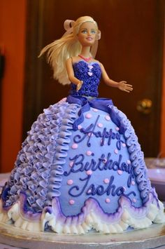 131 Best Doll Cake Images In 2019 Barbie Cake Birthday Cakes