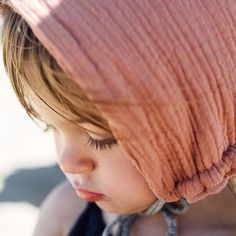 """@liilukid on Instagram: """"kissed by • the sun Little sweetie in her #liilu #musselin #pixie #bonnet enjoying a day at the beach, thanks @travel.little.one for this nice pic! Really adorable..."""""""