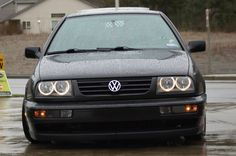 VW MK3 Jetta angel eyes headlights