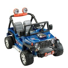 Fisher-Price Power Wheels Hot Wheels Jeep Wrangler Battery-Powered Ride-On, Blue in Toys & Hobbies > Diecast & Toy Vehicles > Cars, Trucks & Vans > Contemporary Manufacture Jeep Liberty, Power Wheels Jeep, Hot Wheels, Jeep Grand Cherokee, Jeep Wrangler, Dodge, Mustang, Chevy, Jeep Grill