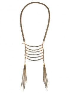 Vanessa Money Age of Reason Gunmetal Statement Necklace