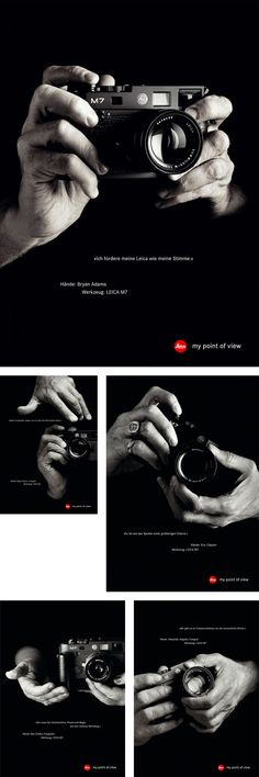 Leica by Heine/Lenz/Zizka , via Behance