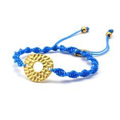 Pulsera latón bañado en oro #bracelets ❤ ❤