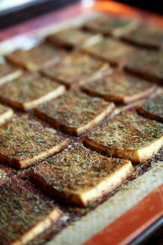 A Newbie's Guide to Preparing Tofu (That Even Tofu-Haters Will Love!) the baked tofu recipe is ahh-mazing.