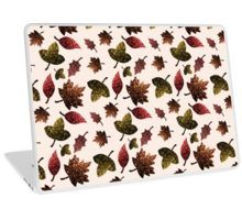 Sparkly leaves fall autumn sparkles pattern Laptop Skin by #PLdesign #sparkles #colorful #sparklesgift #redbubble