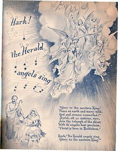 Ideals magazine Christmas 1955 (inside page)
