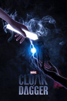 Marvel Vs, Marvel Comics, Marvel Room, Disney Channel, Cloak And Dagger Art, Hulk Art, Batman Tattoo, Marvel Series, Tv Series