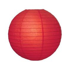 Red 8 Lantern for $1.99 in Pool Party Decorations - Pool Party - Theme Parties - Theme & Event Parties