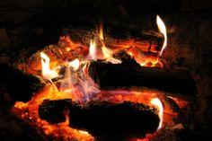 Campfire Camping holiday