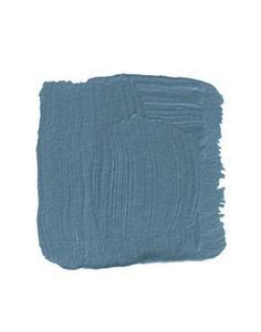 """Claydon Blue /   FARROW & BALL CLAYDON BLUE 87: """"Shadow can be your friend, especially in a small space. Painting a room a dark color camouflages the fact that it's small. A deep blue like this creates the perception of depth. The green in it warms it up and reminds me of those glazes on English Aesthetic Movement pottery. Lacquer it if you want more liveliness."""" -Thomas Jayn"""