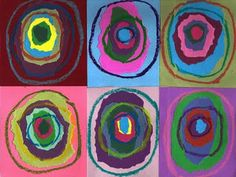Kandinsky-inspired project from Art Projects for Kids