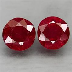 1.54ctw Natural Blood Red Ruby Round Cut Loose Gemstone http://www.propertyroom.com/listing.aspx?l=9627284