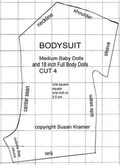 Αποτελέσματα εικόνων για Free Printable 18 Inch Doll Clothes Patterns