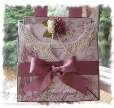 A Criss Cross Card by craftingallday - Cards and Paper Crafts at Splitcoaststampers