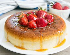 These Japanese-style Souffle Pancakes are incredibly light and fluffy. They are a popular trend in Japan, but you can recreate them in your own home.
