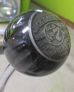 Vintage Jack Daniel's Old No 7 Whiskey Shift Knob - HouseOspeed - Hot Rod Shift Knob