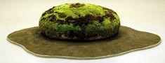 Japanese ceramicist, with moss landscape, Mineo Mizuno-carpet