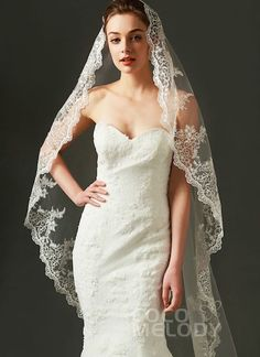 100 styles of Wedding Veils, Affordable Bridal Veil Wedding Hair Down, Wedding Veils, Bridal Veils, Aladdin Wedding, Fingertip Veil, Mantilla Veil, Affordable Bridal, Geek Wedding, Wedding Ideas