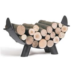 Houtopslag Mila Range Buche, Firewood, Outdoor Living, Texture, Cooking, Crafts, Products, Firewood Holder, Steel