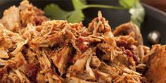 Slow Cooker No Fuss Shredded Chuck Roast - So MANY ways to serve this DELICIOUS Healthy Roast!  www.GetCrocked.com