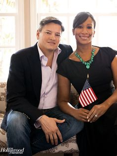 Netflix Chief Content Officer Ted Sarandos and his wife, U. Ambassador (to the Bahamas) Nicole Avant. Interracial Family, Interracial Marriage, Mixed Couples, Couples In Love, Power Couples, Beautiful Love, Beautiful Couple, Interacial Couples, Blind Love