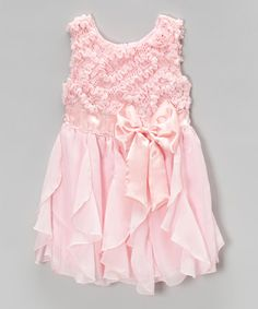 Look what I found on #zulily! Pink Ruffle Dress - Infant by Blossom Couture #zulilyfinds
