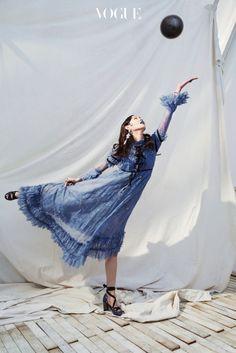 Ellis Ahn for Vogue Korea February 2017. Photographed by Kim Bo Sung