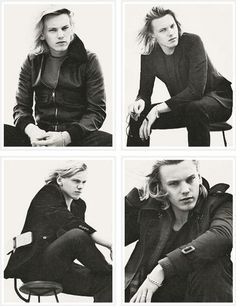 Jamie Campbell Bower. I find him weirdly attractive. So gorgeous. Can't wait for the mortal instruments.