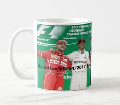 Lewis Hamilton F1 Chinese winner 11oz ceramic tea/coffee mug by ANYSIZEPRINTED on Etsy
