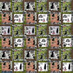 tonya dusold: Ghastlies quilt