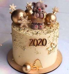 Cake Decorating New Year Cake Designs 2020 . Cake Decorating New Year Cake Designs 2020 . Christmas Cake Designs, Christmas Cake Decorations, Holiday Cakes, Christmas Cake Topper, New Year Cake Designs, Wedding Cake Designs, Wedding Cakes With Cupcakes, Wedding Cake Toppers, Oreo Cupcakes