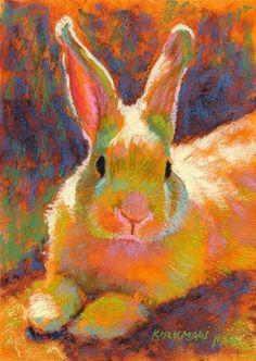 Sunny Bun - Original Fine Art for Sale - © by Rita Kirkman