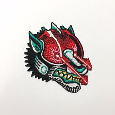 MetaDope - Laser Wolf Patch