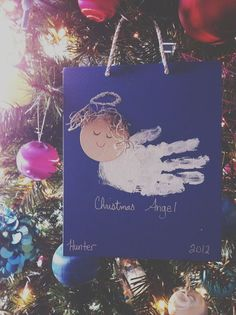 "From ""lowercase letters""  Christmas angel"