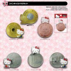 Hello Kitty Coins! ¥¥¥¥円円円円