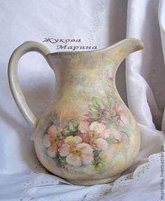 """Кухня ручной работы. Ярмарка Мастеров - ручная работа. Купить Кувшин """"Летний день"""". Handmade. Кувшин, ваза для цветов"""