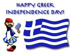 Image result for happy greek independence day