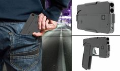 """#DailyMailUK .... """"Says it is a lightweight one-piece frame with a hammerless firing system.. Has a clip on the side that can fastened to pocket, just like a smartphone.. Turn off safety and grip swings open allowing you to start shooting.. Anti-gun organizations and law enforcement worry about dangers of gun.""""…"""
