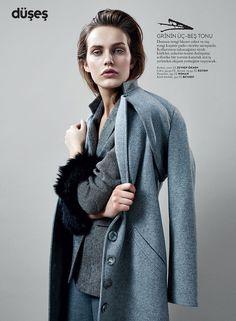 Vogue Turkey February 2015 | Karolina Waz | Emre Dogru Fashion Photography Inspiration, Style Inspiration, Editorial, 50 Shades Of Grey, Androgynous, Hair Designs, Costumes For Women, Vogue, Suits