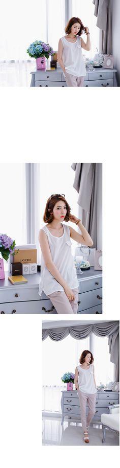 JSTYLE- 50% SALE MISSY & BIGSIZE 6175 < [J production] B0045 Chiffon Sleeveless shirts Clearinghouse < FASHION / CLOTHES < WOMEN < MISSY & BIGSIZE