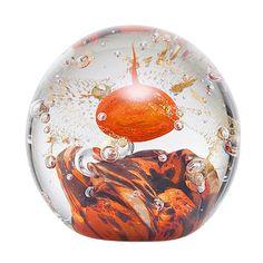 La Rochere Sulfure Orange - Presse Papier Meteores - la rochere sulfure meteores orange