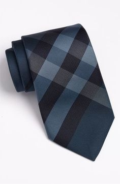 Burberry London Check Print Silk Tie Avaliable @ Nordstrom