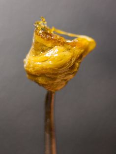 BHO dab, also known as a concentrated dose of cannabis extract