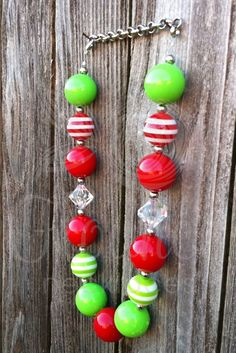 Christmas Chunky Necklace