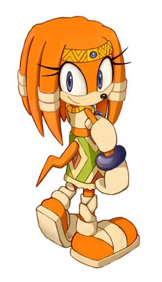 Tikal the Echidna Sonic Party, Game Sonic, Tikal, Sonic The Hedgehog, Ocelot, Ghibli, Digimon, Sonic & Knuckles, Shadow Sonic