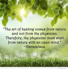 Natural healing mechanisms.