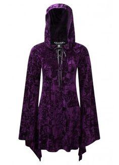 Killstar Velvet Witch Hood Dress, £49.99