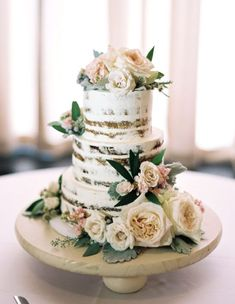 Wedding cake idea; Featured Photographer: Untamed Heart Photography